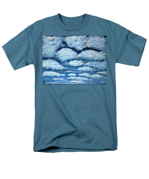 Men's T-Shirt  (Regular Fit) featuring the painting Clouds by Antonio Romero