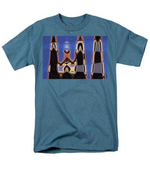 Color Abstraction Xliii Men's T-Shirt  (Regular Fit)