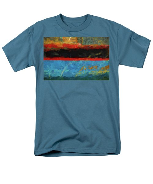 Color Abstraction Xxxix Men's T-Shirt  (Regular Fit)