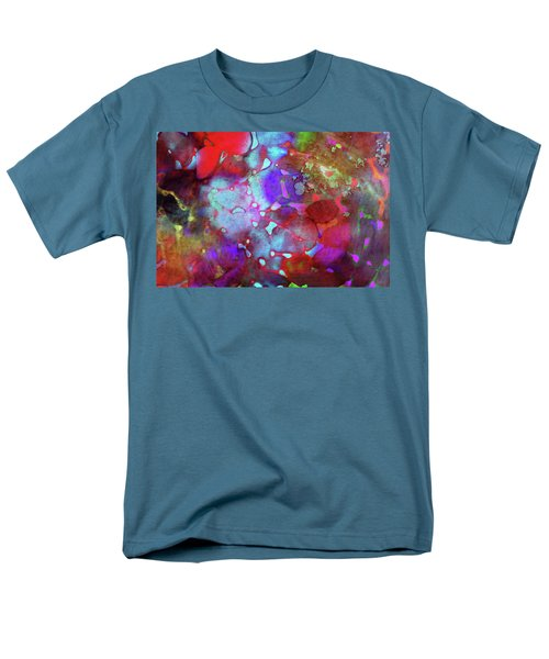 Color Burst Men's T-Shirt  (Regular Fit) by AugenWerk Susann Serfezi