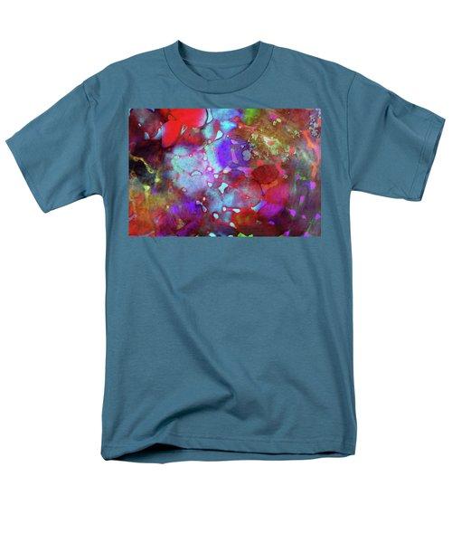 Color Burst Men's T-Shirt  (Regular Fit)