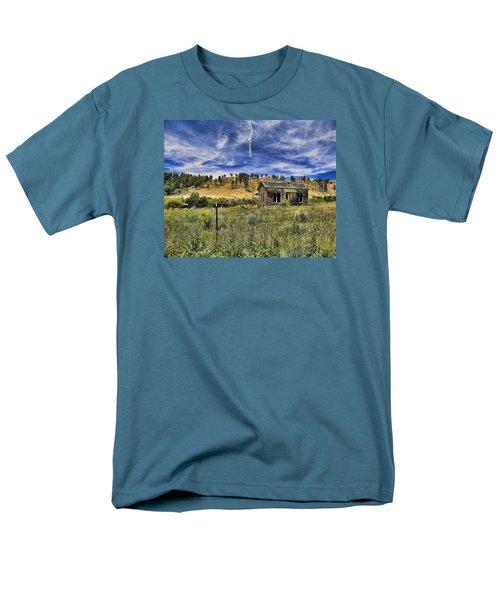 Colorado Homestead Men's T-Shirt  (Regular Fit) by John Bushnell