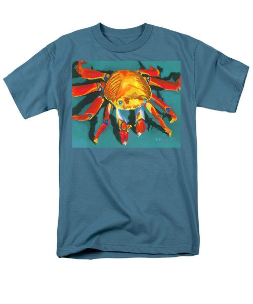 Colorful Crab II Men's T-Shirt  (Regular Fit) by Stephen Anderson
