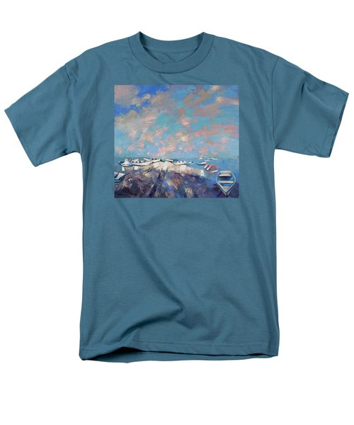 Colors Flamingo Men's T-Shirt  (Regular Fit) by Anastasija Kraineva