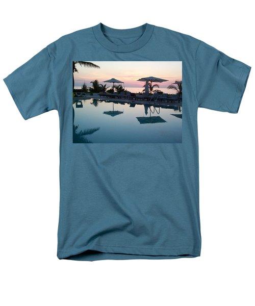 Men's T-Shirt  (Regular Fit) featuring the photograph Columbus Isle by Mary-Lee Sanders