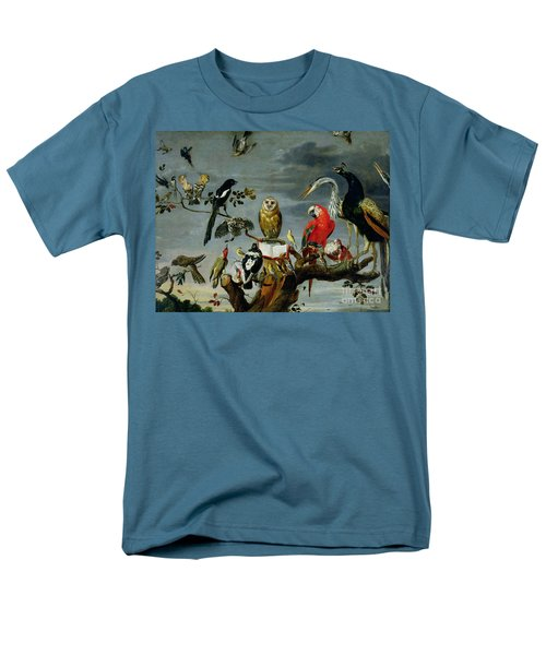 Concert Of Birds Men's T-Shirt  (Regular Fit) by Frans Snijders
