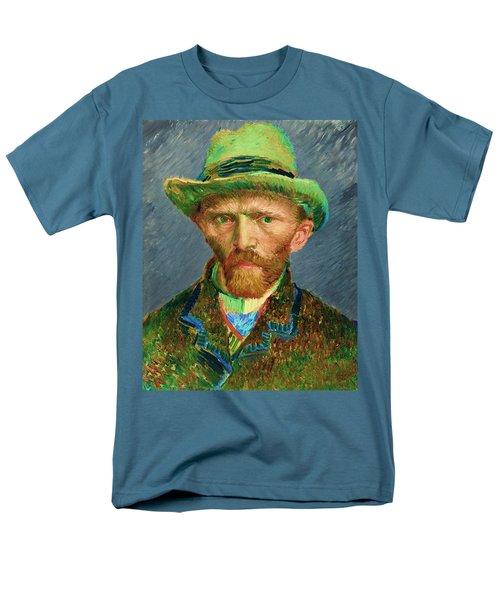 Contemporary 2 Van Gogh Men's T-Shirt  (Regular Fit) by David Bridburg