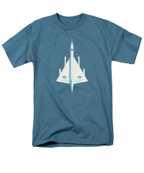 Convair B-58 Hustler Us Air Force Supersonic Jet Bomber - Slate Men's T-Shirt  (Regular Fit)