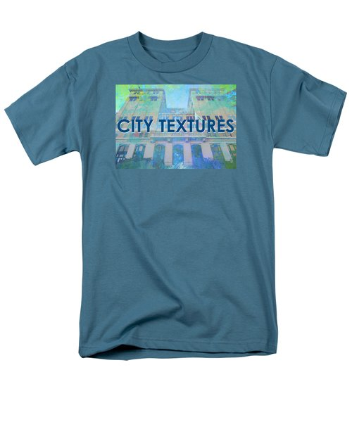 Cool City Textures Men's T-Shirt  (Regular Fit) by John Fish