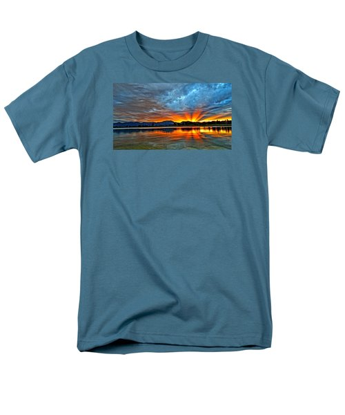 Cool Nightfall Men's T-Shirt  (Regular Fit) by Eric Dee
