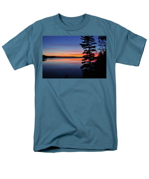 Cottage Sunset Men's T-Shirt  (Regular Fit) by Keith Armstrong