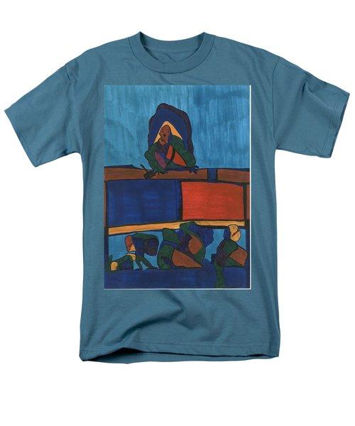 Courtroom  Men's T-Shirt  (Regular Fit) by Darrell Black