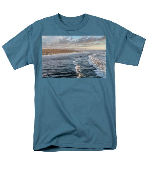 Men's T-Shirt  (Regular Fit) featuring the photograph Crests And Birds by Greg Nyquist
