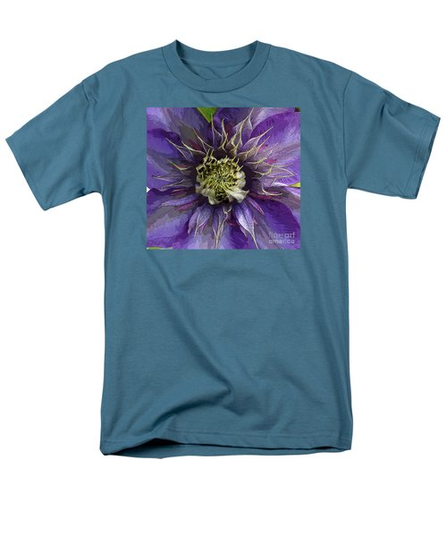 Men's T-Shirt  (Regular Fit) featuring the photograph Crystal Fountain by Jeanette French