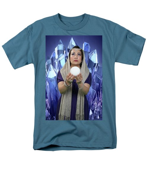 Crystal Goddess Men's T-Shirt  (Regular Fit) by David Clanton