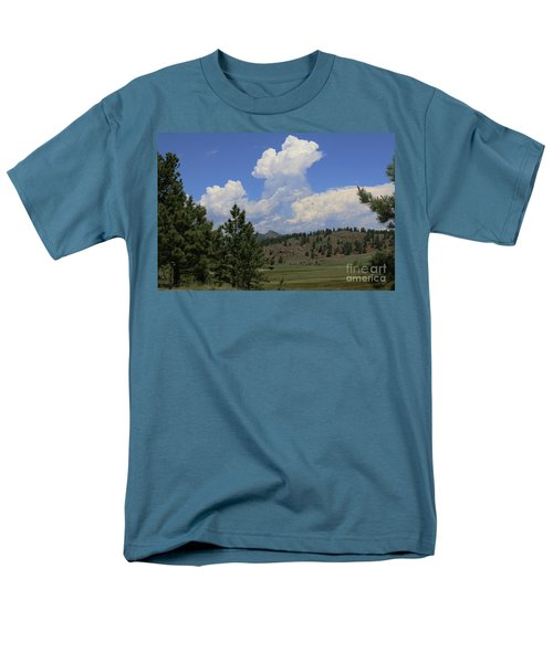 Crystal Peak Colorado Men's T-Shirt  (Regular Fit) by Jeanette French