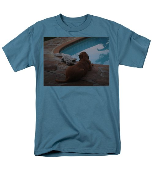 Cujo And The Alligator Men's T-Shirt  (Regular Fit) by Val Oconnor