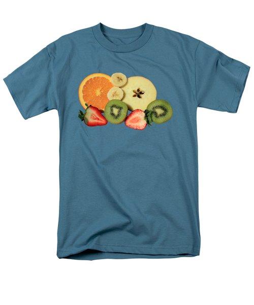 Cut Fruit Men's T-Shirt  (Regular Fit)