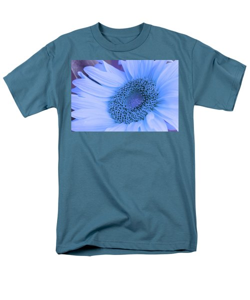 Men's T-Shirt  (Regular Fit) featuring the photograph Daisy Blue by Marie Leslie