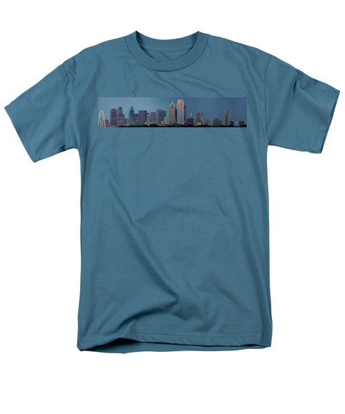 Dallas At Night Men's T-Shirt  (Regular Fit) by Jonathan Davison