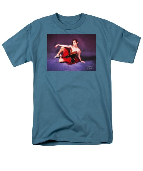 Dancer No. 6  ... Men's T-Shirt  (Regular Fit) by Chuck Caramella