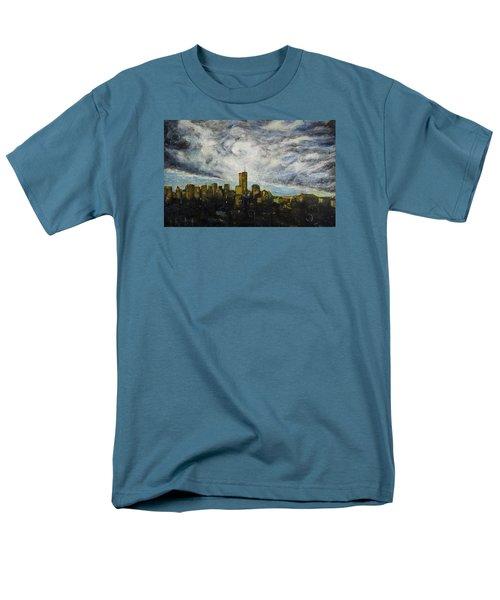 Dark Clouds Approaching 2 Men's T-Shirt  (Regular Fit) by Ron Richard Baviello