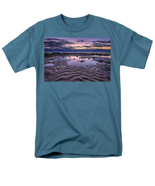 Men's T-Shirt  (Regular Fit) featuring the photograph Dawn On Wells Beach by Rick Berk