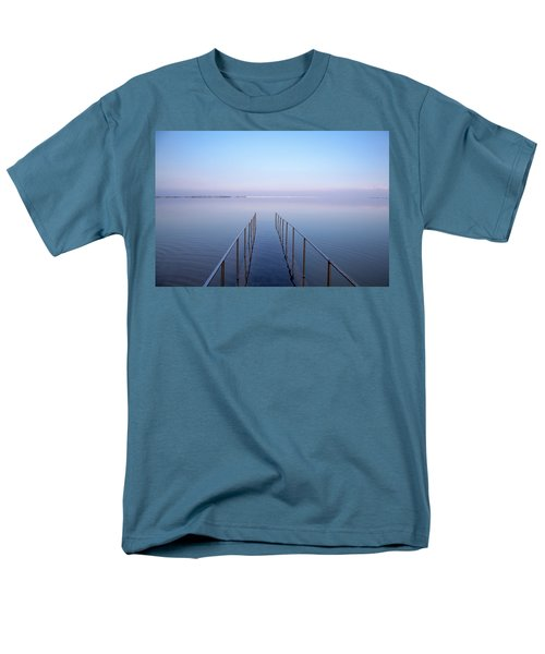 Men's T-Shirt  (Regular Fit) featuring the photograph The Dead Sea by Yoel Koskas