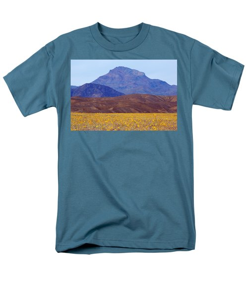 Death Valley Superbloom 201 Men's T-Shirt  (Regular Fit) by Daniel Woodrum