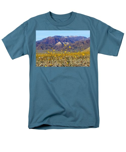 Death Valley Superbloom 405 Men's T-Shirt  (Regular Fit) by Daniel Woodrum