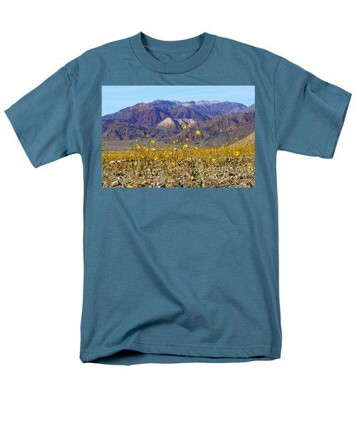Death Valley Superbloom 405 Men's T-Shirt  (Regular Fit)