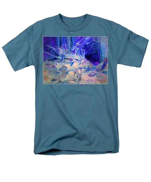 Men's T-Shirt  (Regular Fit) featuring the photograph Deep In The Forest by Joyce Dickens