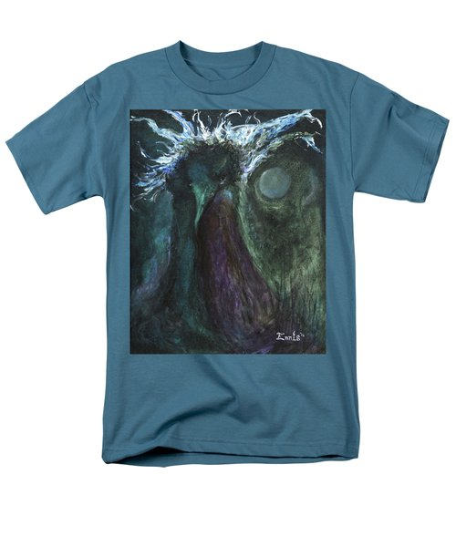 Men's T-Shirt  (Regular Fit) featuring the painting Deformed Transcendence by Christophe Ennis