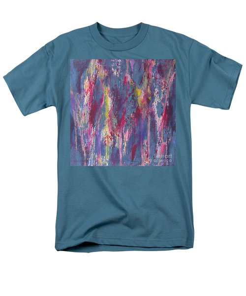 Men's T-Shirt  (Regular Fit) featuring the painting Delve Deep 2 by Mini Arora