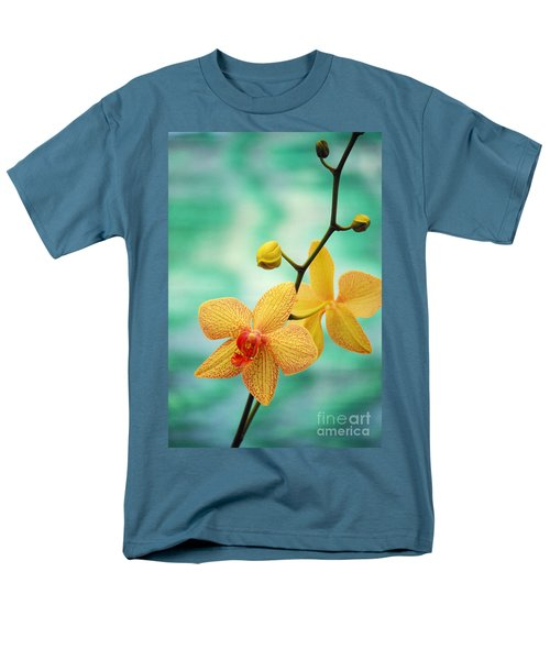Dendrobium Men's T-Shirt  (Regular Fit) by Allan Seiden - Printscapes