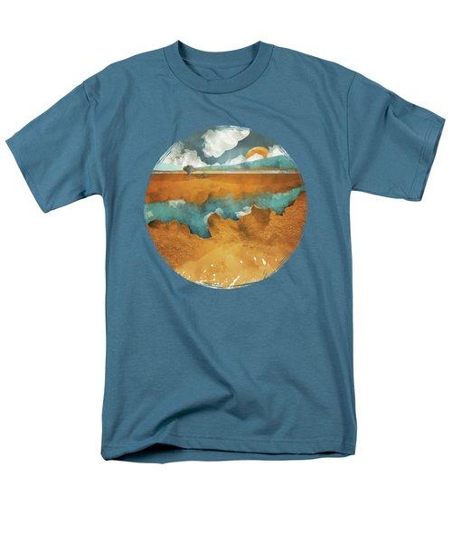 Desert Lake Men's T-Shirt  (Regular Fit) by Spacefrog Designs