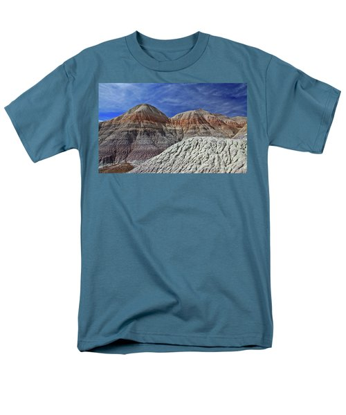 Men's T-Shirt  (Regular Fit) featuring the photograph Desert Pastels by Gary Kaylor