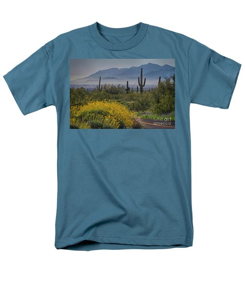 Desert Springtime Men's T-Shirt  (Regular Fit) by Anne Rodkin