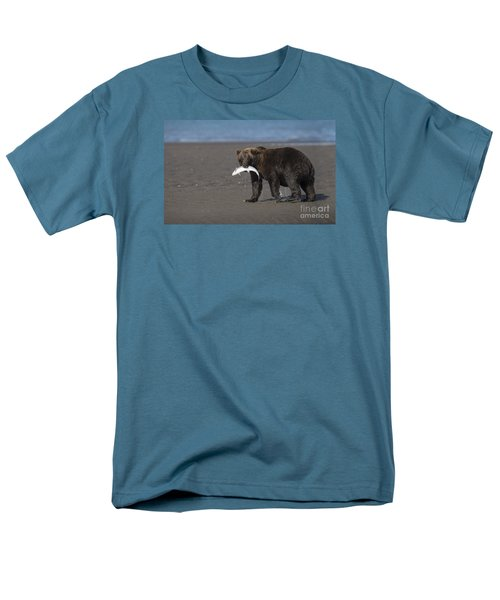 Men's T-Shirt  (Regular Fit) featuring the photograph Dinner Time by Sandra Bronstein