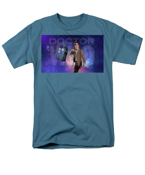 Doctor Who Men's T-Shirt  (Regular Fit) by Pat Cook