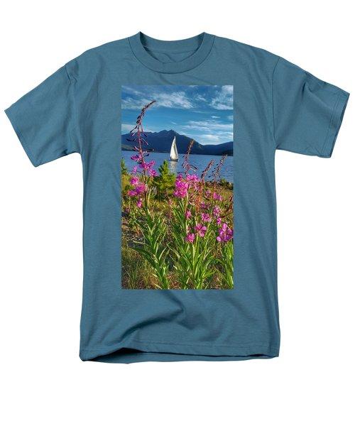 Don't Rush A Good Thing Men's T-Shirt  (Regular Fit) by Fiona Kennard