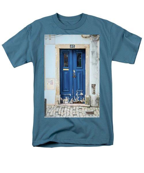 Door No 67 Men's T-Shirt  (Regular Fit) by Marco Oliveira