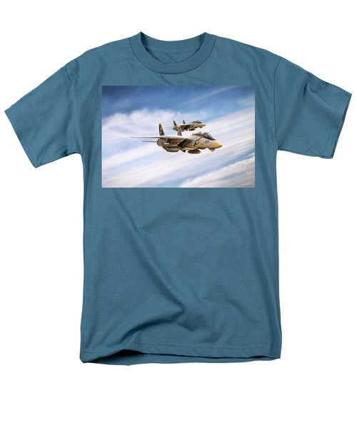Men's T-Shirt  (Regular Fit) featuring the digital art Double Nuts by Peter Chilelli