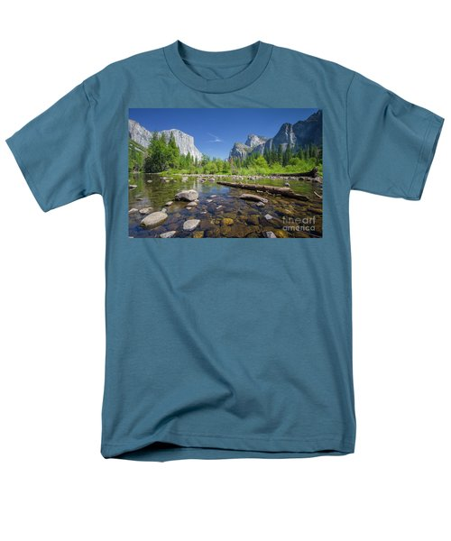 Down In The Valley Men's T-Shirt  (Regular Fit) by JR Photography