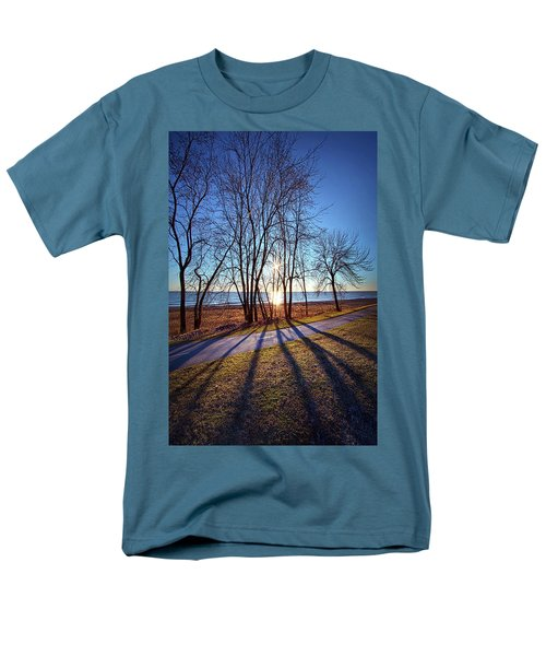 Men's T-Shirt  (Regular Fit) featuring the photograph Down This Way We Meander by Phil Koch