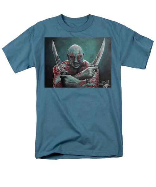 Drax The Destroyer Men's T-Shirt  (Regular Fit) by Tom Carlton