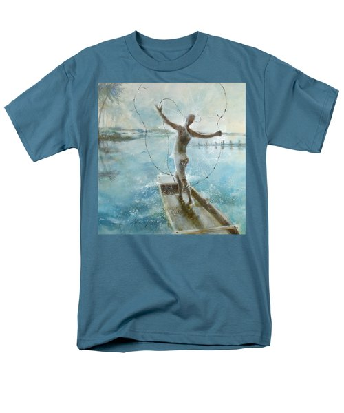 Dream Catcher Men's T-Shirt  (Regular Fit) by Gertrude Palmer