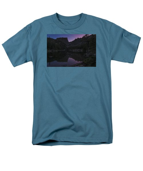Men's T-Shirt  (Regular Fit) featuring the photograph Dream Lake Reflections by Gary Lengyel