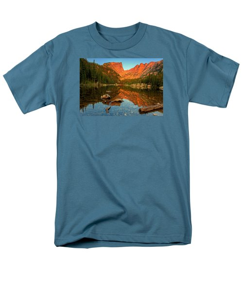 Dream Lake Sunrise Men's T-Shirt  (Regular Fit) by John Vose