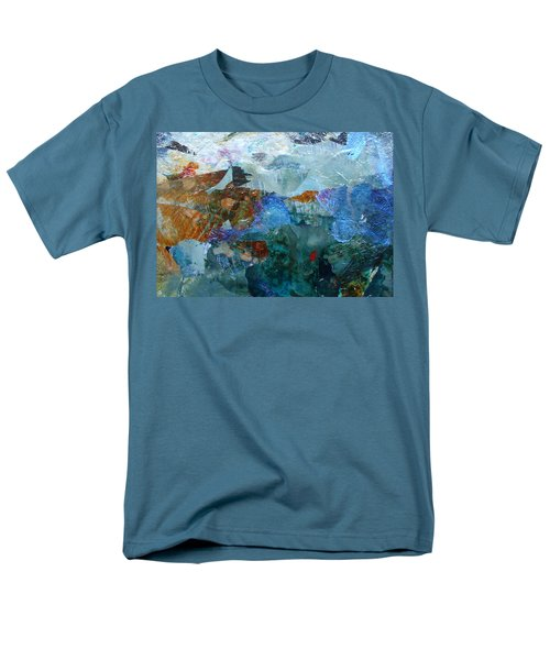 Men's T-Shirt  (Regular Fit) featuring the painting Dreamland by Mary Sullivan